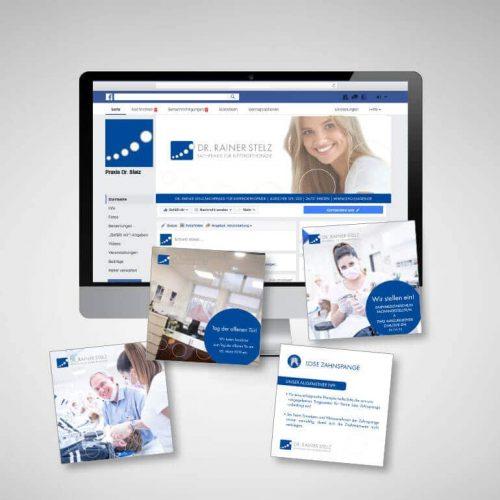 Designstuuv Referenzen KFO Stelz Social Media