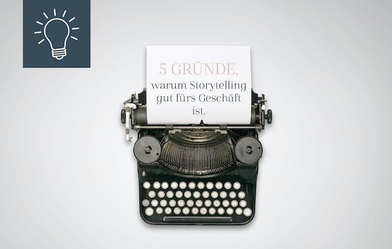 Blogbeitrag Storytelling
