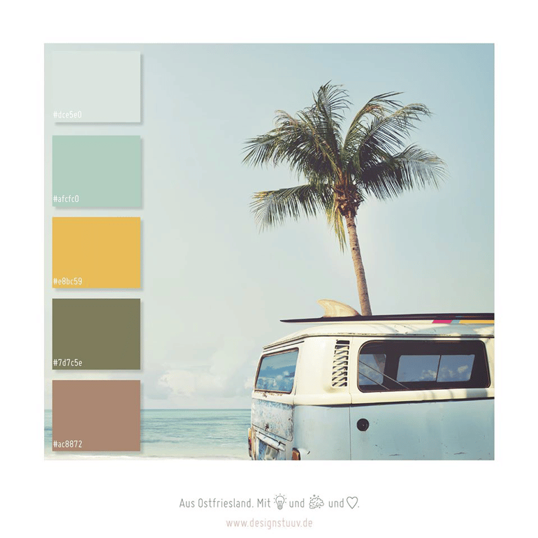DESIGNSTUUV Sommerinspiration Farben
