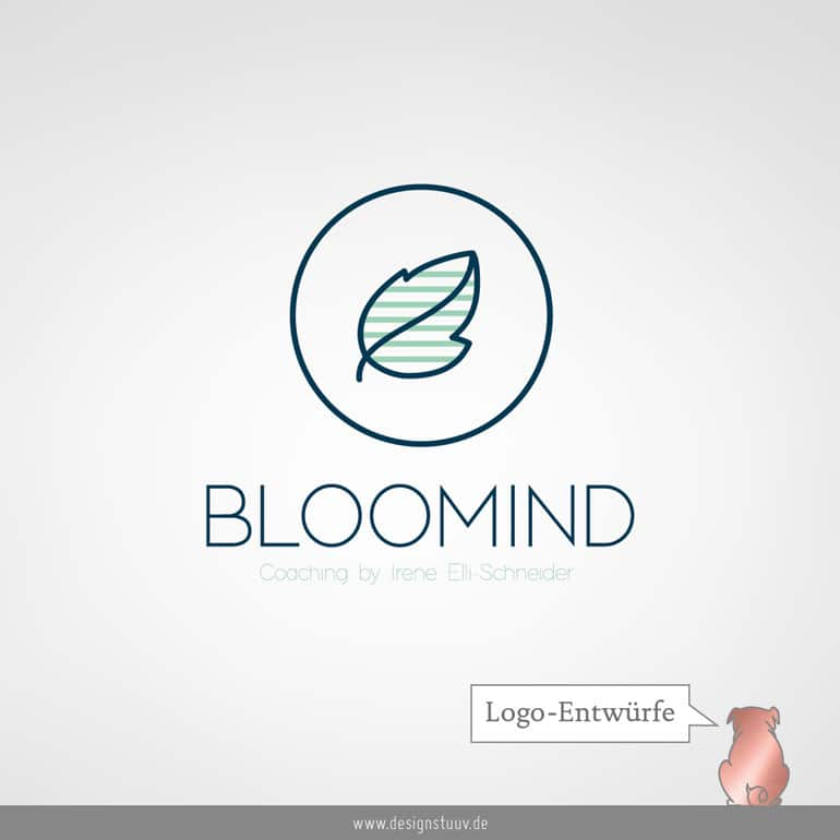 DESIGNSTUUV Logo Entwuerfe Bloomind