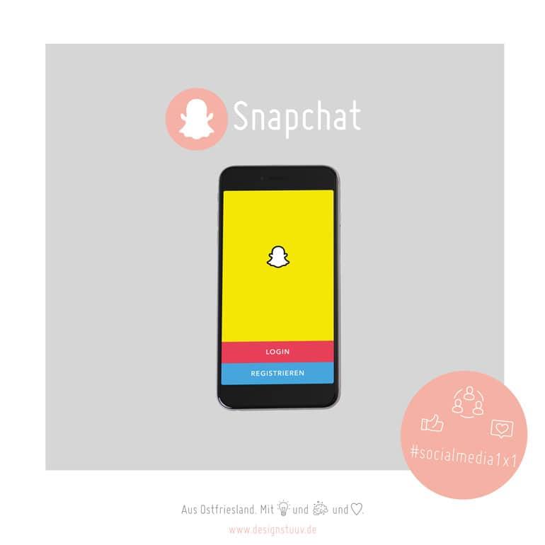 DESIGNSTUUV Blogbeitragsbild Snapchat Social Media 1x1