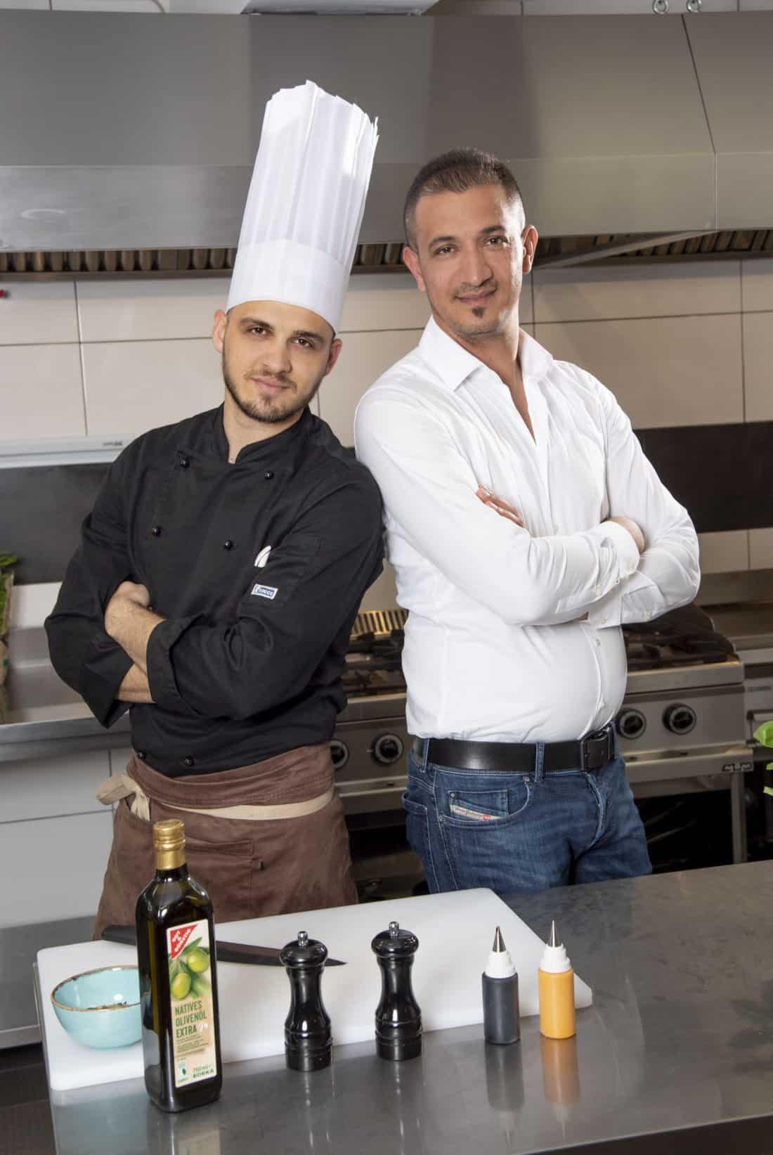 Designstuuv Teamfotografie Michelangelo Koch und Chef