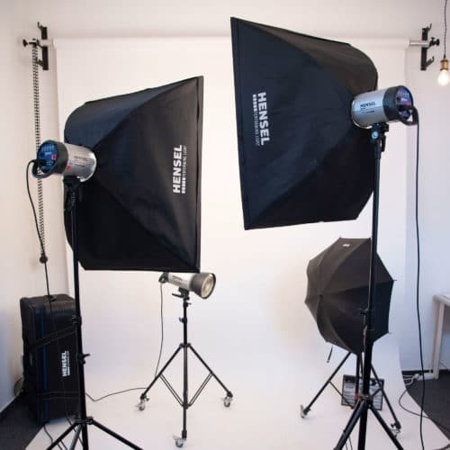Designstuuv Business Fotostudio Equipment Licht
