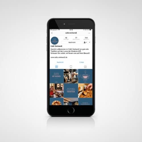 Designstuuv Referenzen Cafe Vierkandt Instagram neu