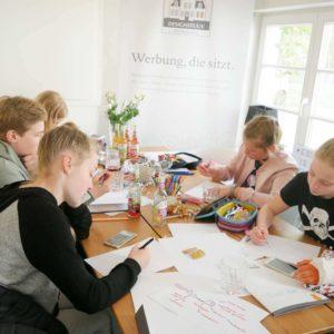 DESIGNSTUUV Slider Praktika Schueler Workshop Mind Map
