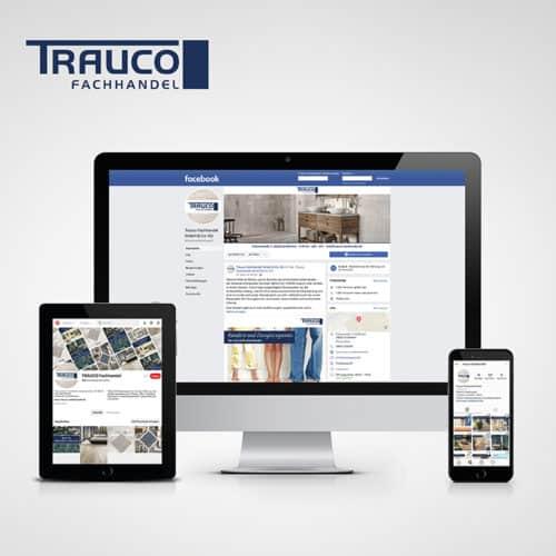 Designstuuv Referenzen Trauco Social Media