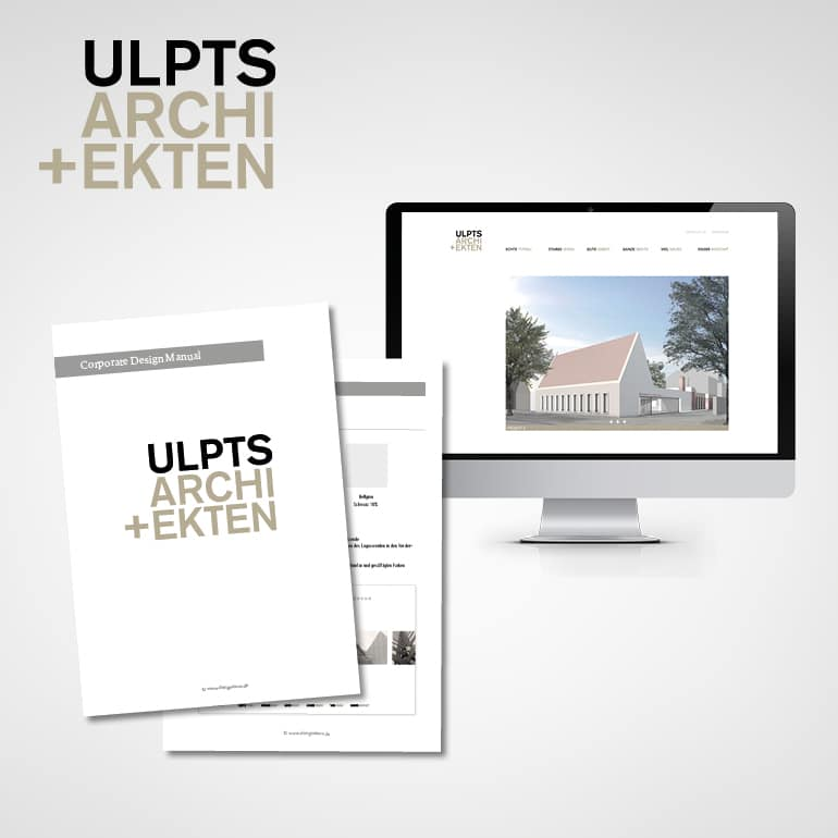 Designstuuv Referenz Ulpts Website Startseite