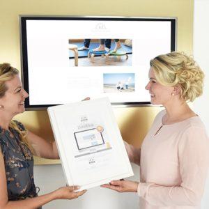 DESIGNSTUUV Referenzen Pahl Zertifikat