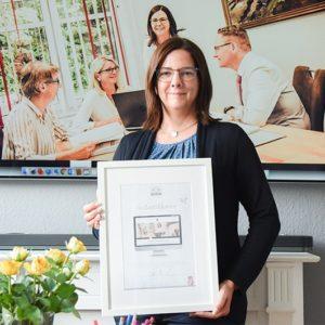 DESIGNSTUUV Referenzen Steuerberater Wessels Zertifikat