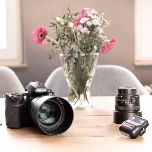 Designstuuv Business Fotostudio Vorbereitung Kamera Objektiv Planung