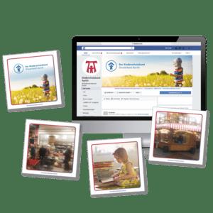 DESIGNSTUUV Referenzen Kinderschutzbund Aurich Engagement Social Media