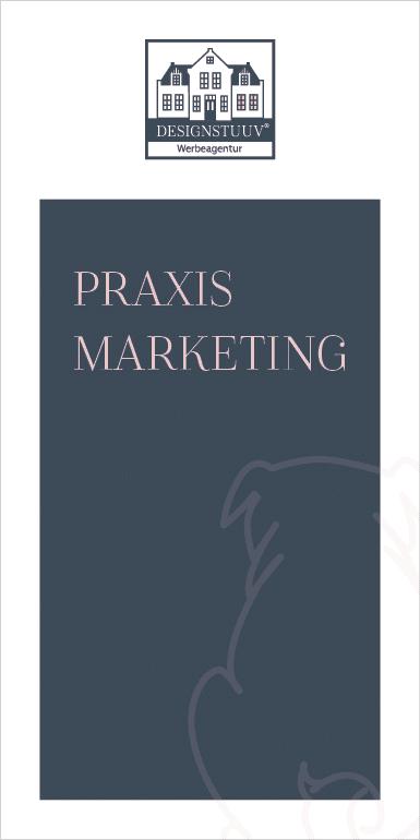 DESIGNSTUUV Flyer Praxismarketing Mops