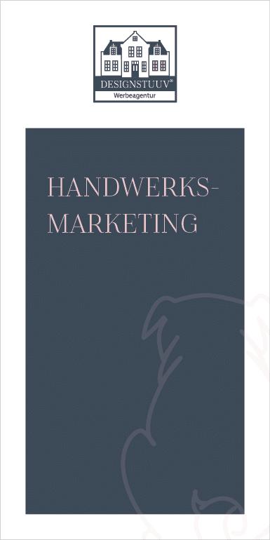 DESIGNSTUUV Flyer Handwerksmarketing Mops