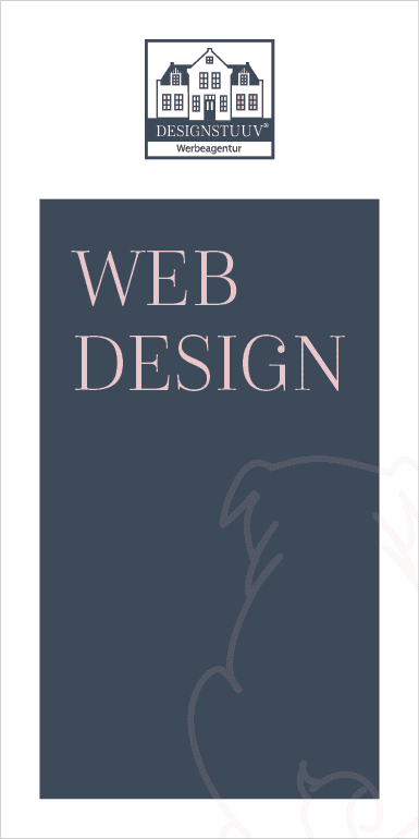 DESIGNSTUUV Flyer Webdesign Mops