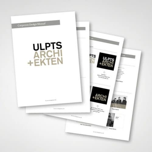 Designstuuv Referenz Ulpts Corporate Design Manual