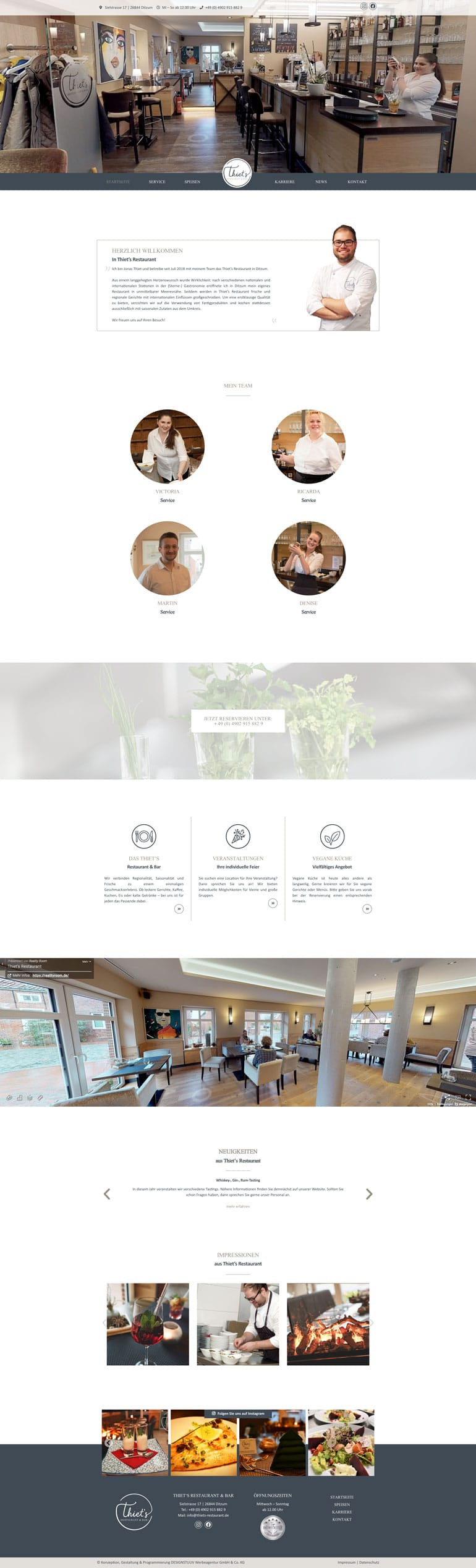 Designstuuv Referenzen Thiets Website desktop