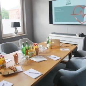 Designstuuv Veranstaltungen Besprechungsraum Praxismarketing
