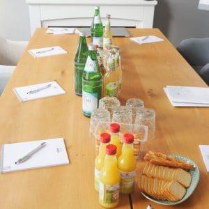 Designstuuv Veranstaltungen Getraenke und Snacks