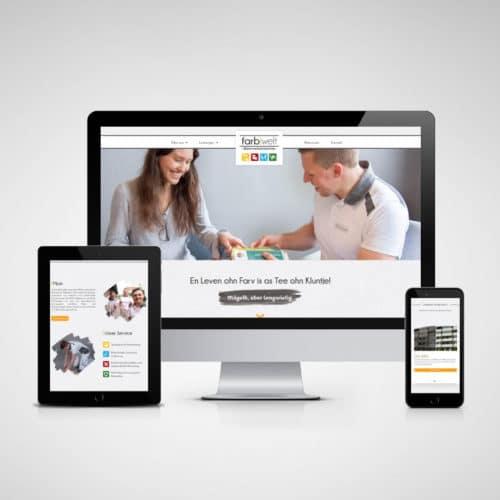 Designstuuv Referenzen farbwelt feith website