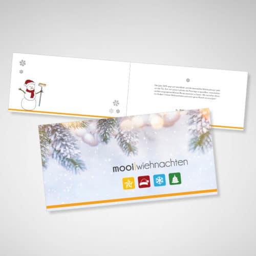 Designstuuv Referenzen farbwelt feith weihnachtskarte