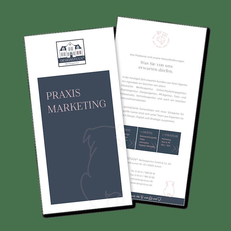 Designstuuv Flyer Praxismarketing
