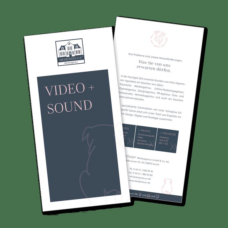 Designstuuv Flyer Video Sound