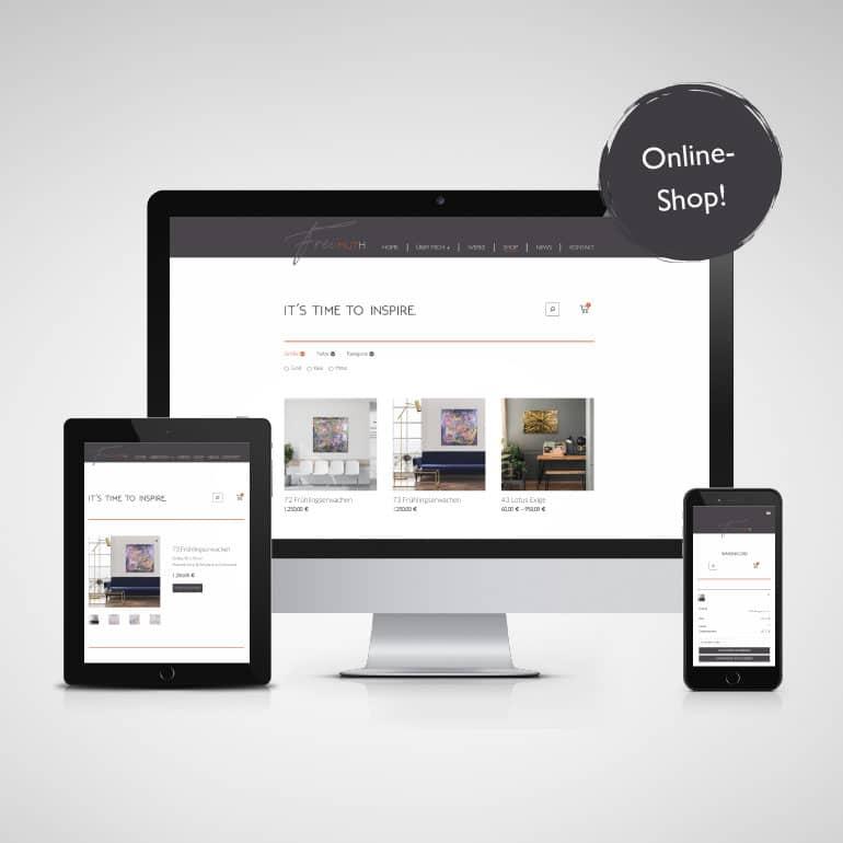 Designstuuv Referenzen Katja Freimuth Onlineshop