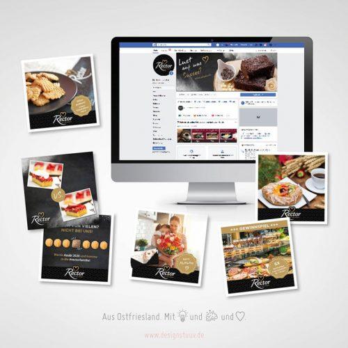 Designstuuv Referenzen Rector Social Media