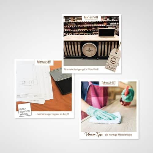 Designstuuv Referenz feinschliff Post Ideen
