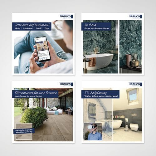 Designstuuv Referenzen Trauco Facebook & Instagram Beiträge