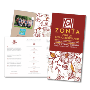 DESIGNSTUUV ZONTA Image Flyer Club of Leer-Ostfriesland