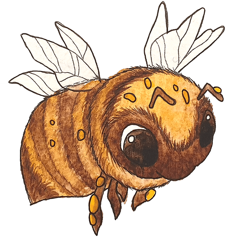 DESIGNSTUUV Engagement Nachhaltigkeit Auricher Stadthonig Biene
