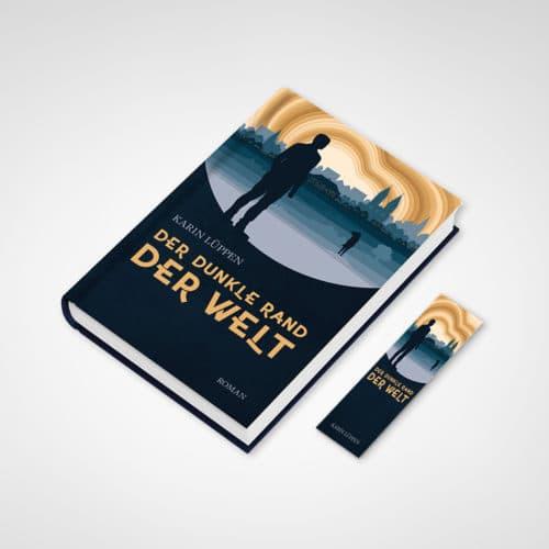 Buchcover + Lesezeichen Karin Lüppen