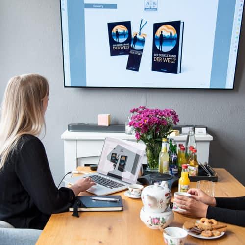 Designstuuv Werbeagentur Referenz Karin Lüppen Präsentation