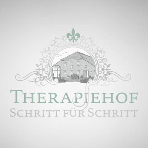 Designstuuv Werbeagentur Referenz Therapiehof Schritt für Schritt Logo