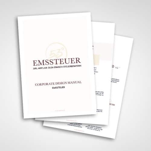 Designstuuv Werbeagentur Referenz Emssteuer Corporate Design