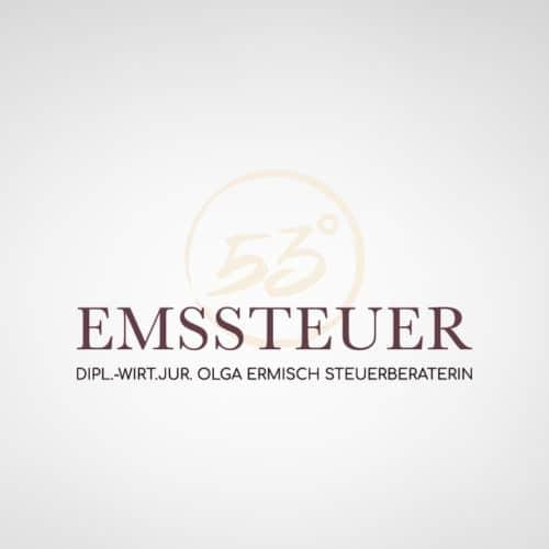 Designstuuv Werbeagentur Referenz Emssteuer Beschilderung