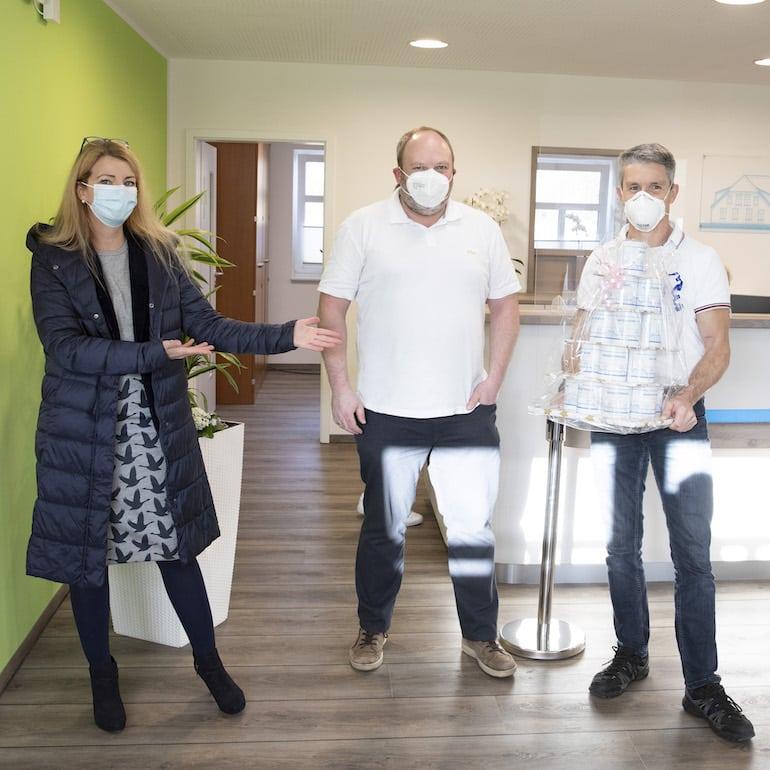 Designstuuv Zertifikat Hausarztpraxis Schirum