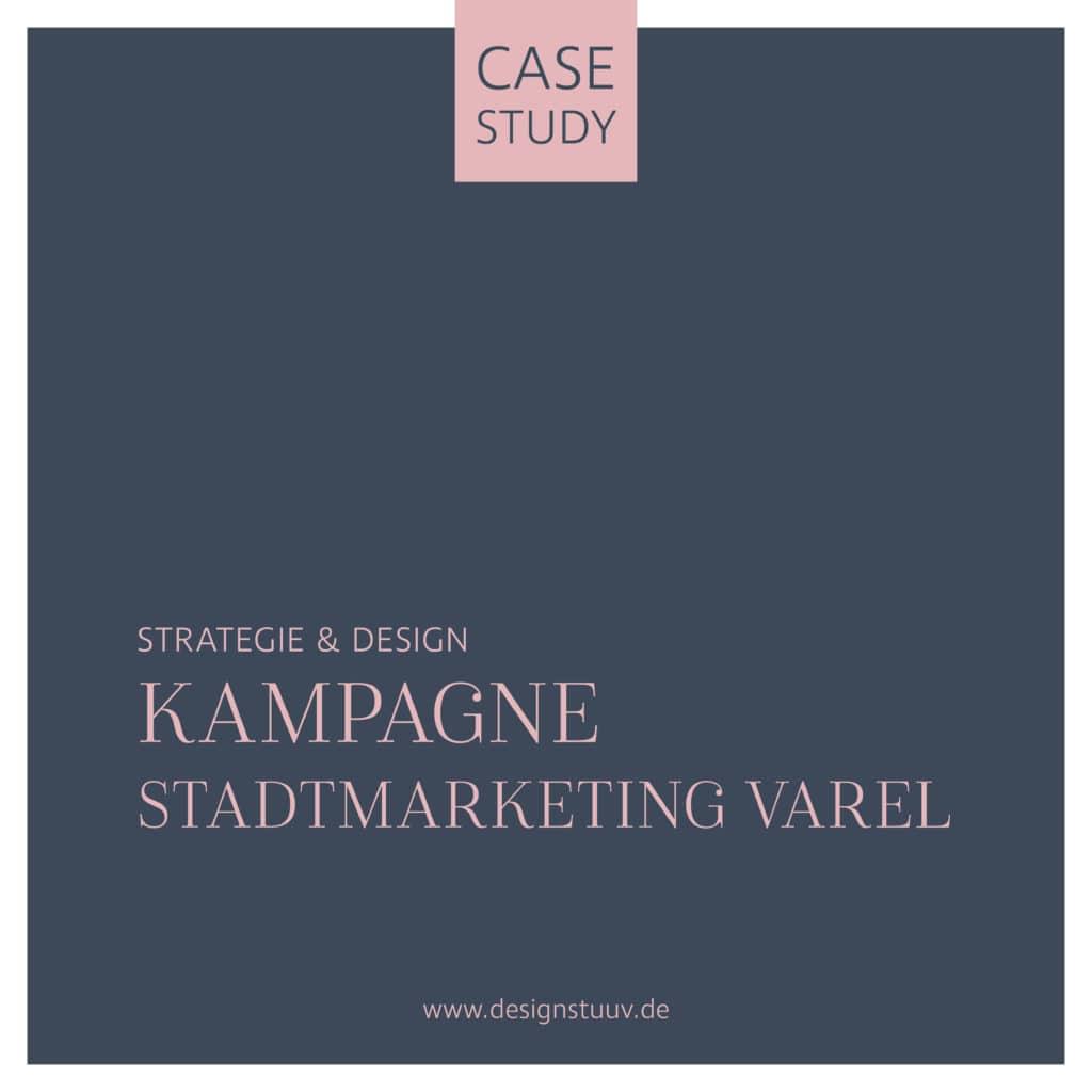 Kampagne Stadtmarketing varel Strategie und Design