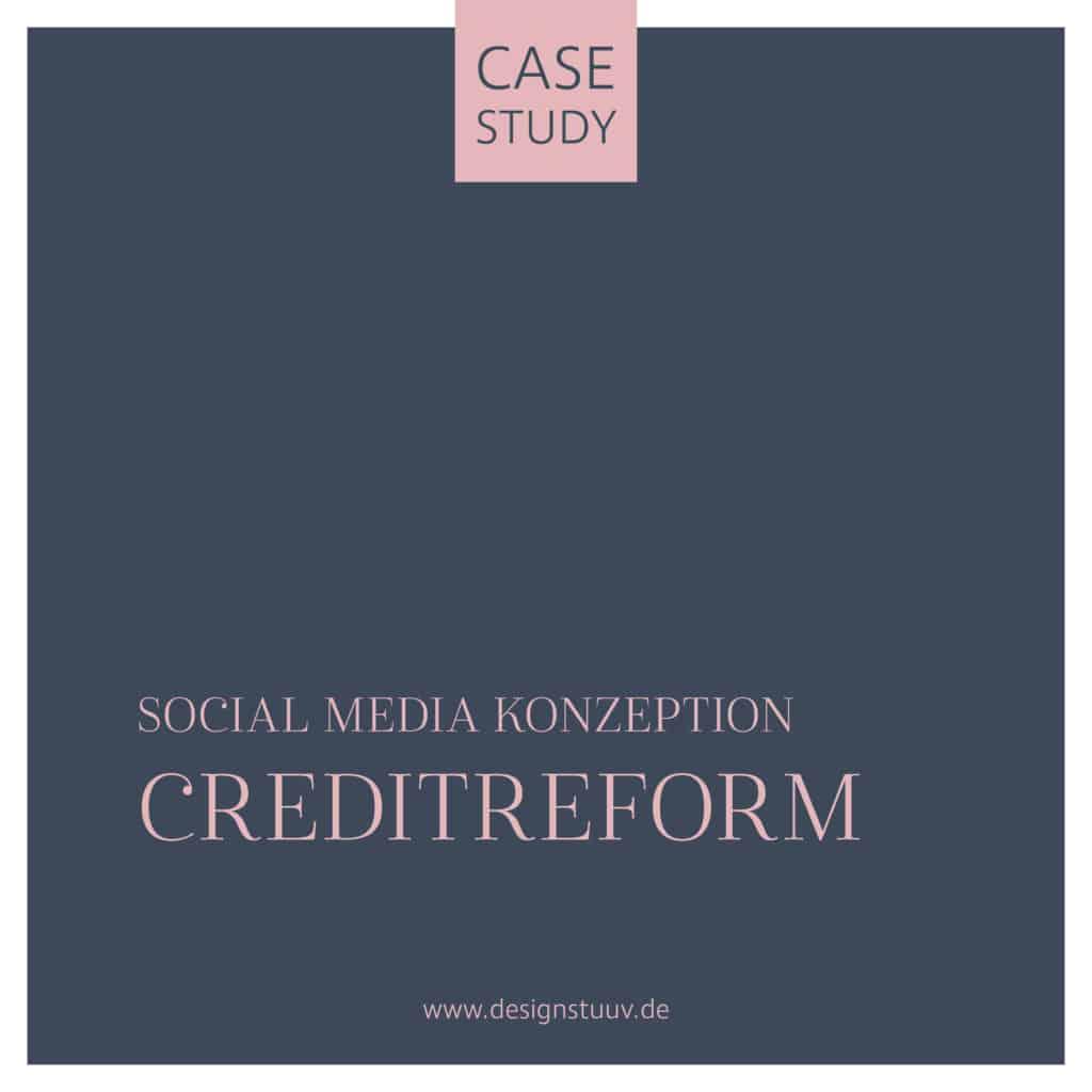 Creditreform Case Social Media Konzeption