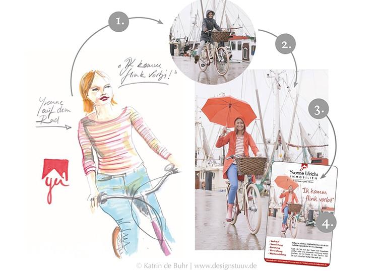 Personal Branding Yvonne Ulrichs by Designstuuv Werbeagentur