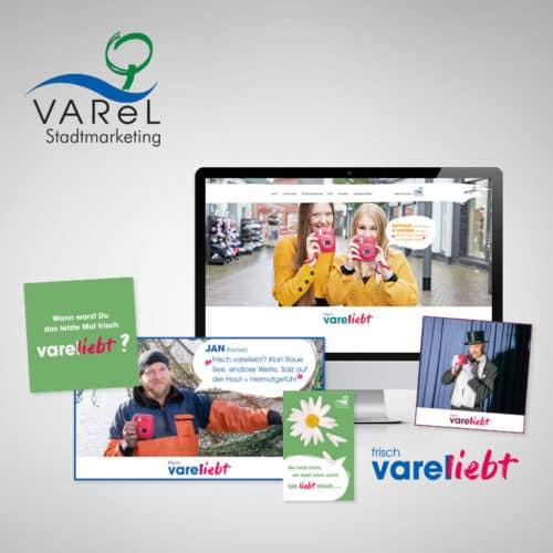 Designstuuv Referenzen Stadtmarketing Varel