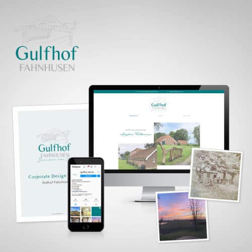 Designstuuv Referenzen Gulfhof Fahnhusen