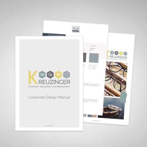 Designstuuv Referenzen Kreuzinger Corporate Design