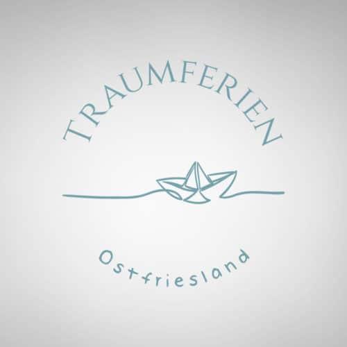 Designstuuv Referenzen Traumferien Ostfriesland Logo Variante