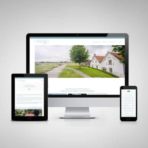Designstuuv Referenzen Traumferien Ostfriesland Website