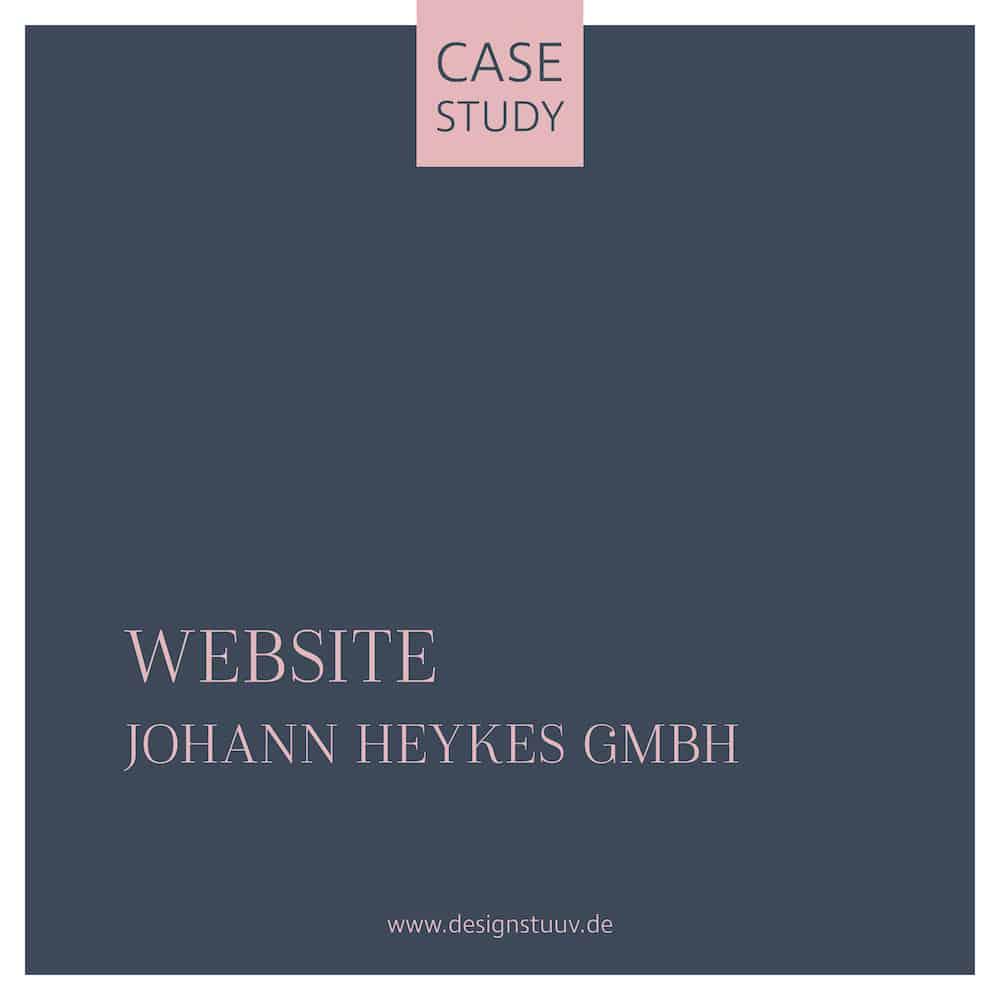 Heykes Bau Website Relaunch