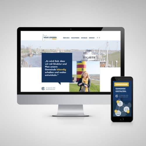 Designstuuv Referenzen Hilke Looden Website